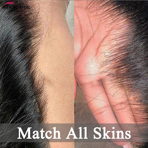 Ishow Bone Straight Human Hair Bundles with Frontal HD Lace Frontal Closure with Bundle Malaysian Straight Bundles with Frontal