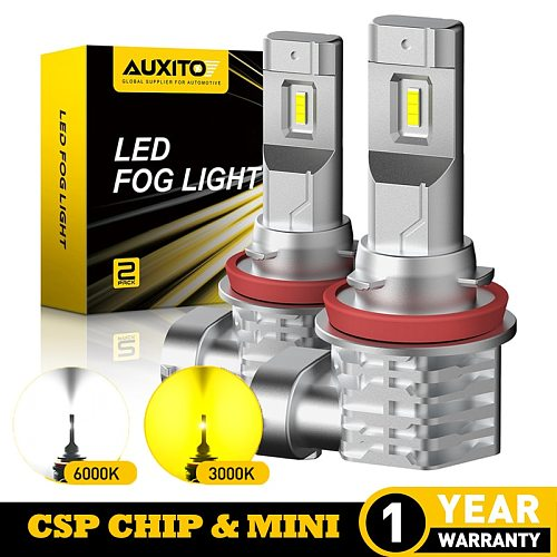 2X H11 H8 H9 CANBUS LED Fog Light For Hyundai Tucson 2017 Creta Kona IX35 Kia Rio 3 4 K2 K5 KX5 Led Light for Car Lamp Bulb 12v