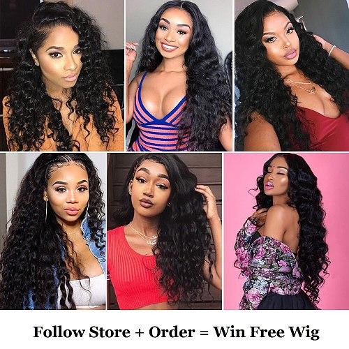 BEAUDIVA Brazilian Body Wave Buy 1/3/4 pcs 100% Human Hair Weave Bundles Body Wave Bundles Brazilian Hair Weave Bundles Deals