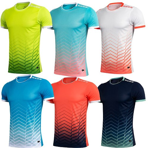 men orange short sleeve sports t-shirt with round collar adult  blue running  shirt kids  sport  jerseys customized name