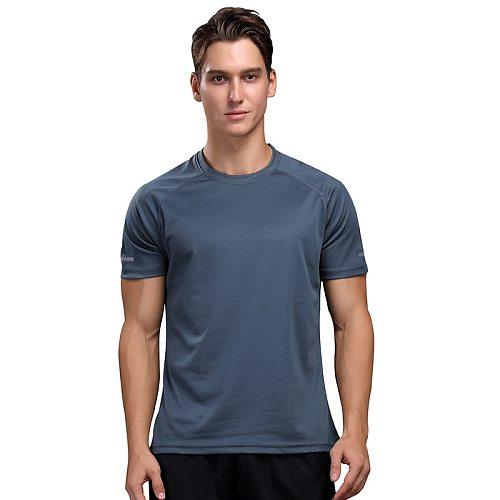 Men's training T-shirt training sportswear short-sleeved shirt quick-drying outdoor breathable running men's bodybuilding shirt