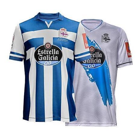 2020 de 2021 Deportivo de La Coruña running Scotland T-shirt and fast drying 20 21 sports coruña shirt