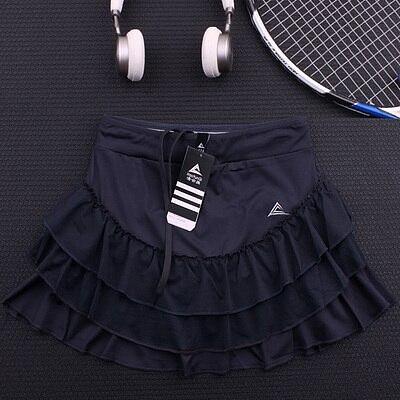 Women's Flower Bloss Tennis skorts with Built In Short , Female Layered Tennis Skort , Women Running Sports Shorts Yoga Skirt