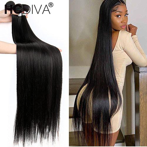 40inch Brazilian Hair Weave Bundles Straight Hair Bundles 100% Remy Human Hair Brazilian Straight Human Hair Extension Natural