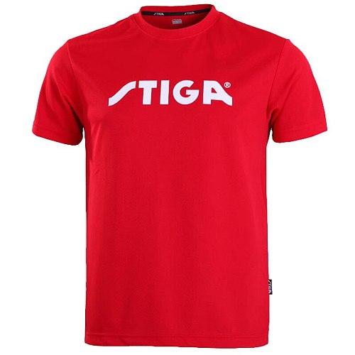 Stiga  Table Tennis Shirt Sport Jerseys  Badminton Jersey  Tennis Masculino  Mujer shorts