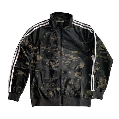 Gopnik Style Tactical Sportswear Combat Full Clothes Set - (Flat Hem Bottom) MCBK (S M L XL XXL XXXL)
