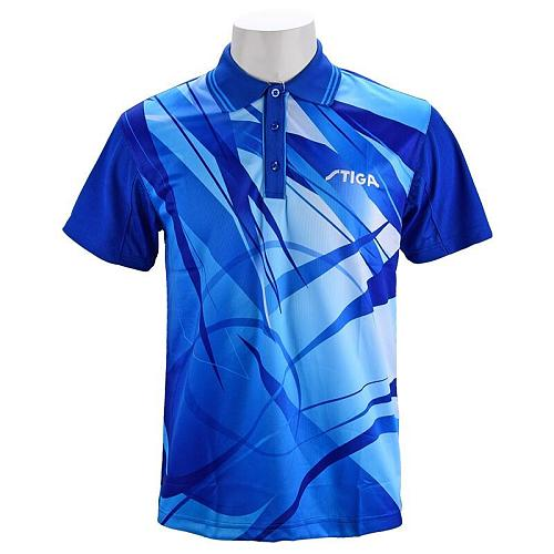 Genuine Stiga Table Tennis Clothes For Men Women Clothing T-shirt Short Sleeved Shirt Ping Pong Jersey Sport Jerseys