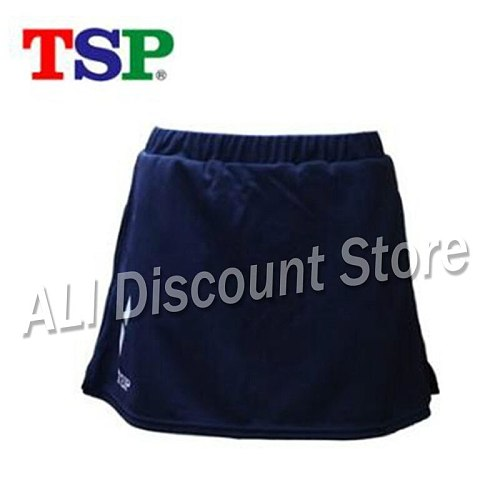 New Original TSP Women table tennis skirt Badminton Table Tennis Skirt High Waist Golf Training Sport Wear For Female