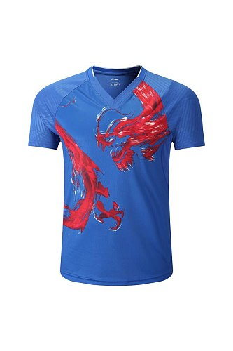 Table tennis sets tshirt Men women lovers Ping Pong wear Dry-Cool breathable sweat absortption table tennis suits sports tshirts
