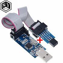 1PCS Great IT USBASP USBISP AVR Programmer USB ISP USB ASP ATMEGA8 ATMEGA128 Support Win7 64
