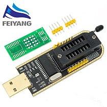 1PCS CH341A 24 25 Series EEPROM Flash BIOS USB Programmer Module + SOIC8 SOP8 Test Clip For EEPROM 93CXX / 25CXX / 24CXX
