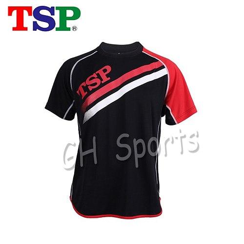 TSP Classic 83502 Table Tennis Jerseys T-shirts for Men / Women Ping Pong Cloth Sportswear Training T-Shirts