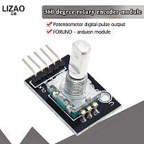 360 Degrees Rotary Encoder Module Brick Sensor Switch Development KY-040 for arduino