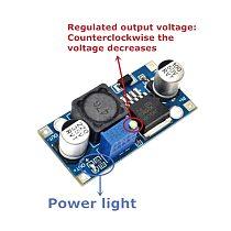 DIP 1PCS DC-DC Buck Converter Step Down Module LM2596 Power Supply Output 1.25V-30V