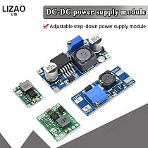 DC-DC Voltage stabilized power supply module Adjustable boost& buck voltage regulator module LM2596S-ADJ MT3608 MP1584EN