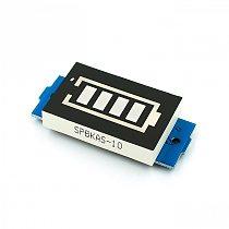 1S Single 3.7V Lithium Battery Capacity Indicator Module 4.2V Blue Display Electric Vehicle Battery Power Tester Li-po Li-ion