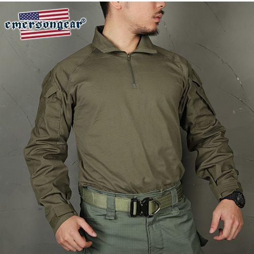 Emersongear Blue Label Ranger Green G3 Combat Tactical Shirt&Pants Upgraded Version Mens BDU Slim Fit  Military Duty Uniform