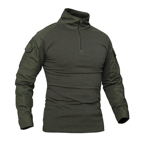 Long Sleeve G2 Combat Shirt Airsoft Paintball Military Outdoor Shirt Men Multicam Black Kryptek Typhon Ranger Green(STG051181)