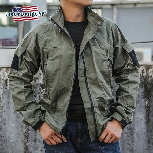 Emersongear Tactical Jacket PCU Protective Combat Jacket MENS Outerwear Military Army Casual Mens Jacket Windproof Clothing