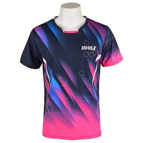 Original Joola Table Tennis Clothes For Men Women Clothing T-shirt Short Sleeved Shirt Ping Pong Jersey Sport Jerseys