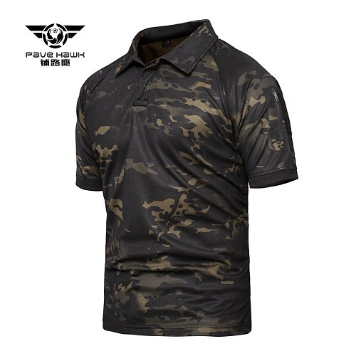 5XL Plus Size Men's Quick Dry Camo Tactical T Shirt Outdoor Climbing Army Training Short Sleeve Military Clothes Hiking T-Shirt