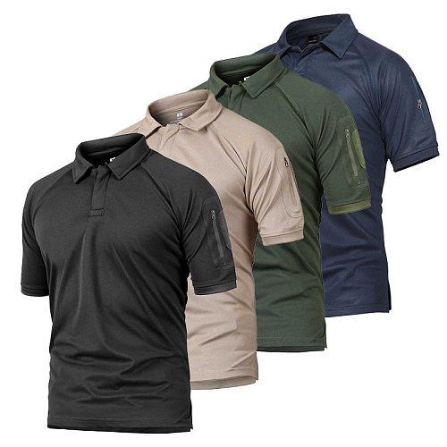 2021 Camouflaged Shirt Tactical Man's T-shirt 5xl Combat Shirt Woodland Desert Hunting Fishing Camping Climbing Male T-shirt p28