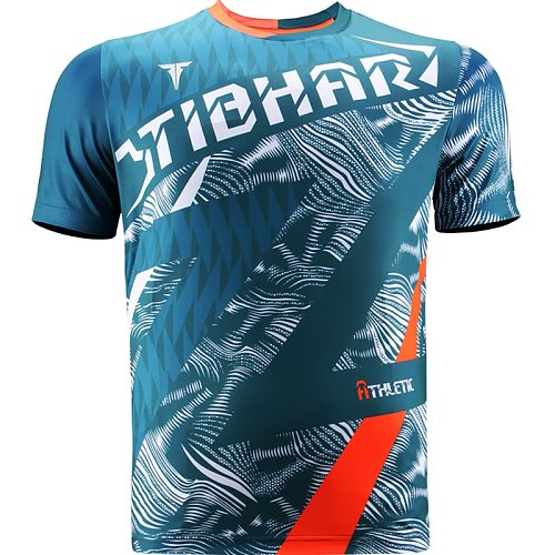 Genuine  Tibhar Table Tennis Jerseys For Men Women Ping Pong Clothing Sports Wear T-shirts 2020