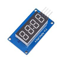 TM1637 LED Display Module For Arduino 7 Segment 4 Bits 0.36 Inch Clock RED Anode Digital Tube Four Serial Driver Board Pack