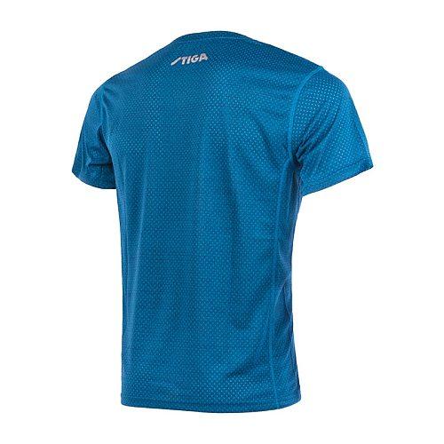 New Arrival Stiga Table Tennis Clothes Sportswear Quick Dry Short Sleeved Men Ping Pong Shirt Badminton Sport Jerseys