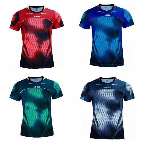 Genuine Joola Table Tennis Clothes For Men And Women Clothing T-shirt Short Sleeved Shirt Ping Pong Jersey Sport Jerseys 771