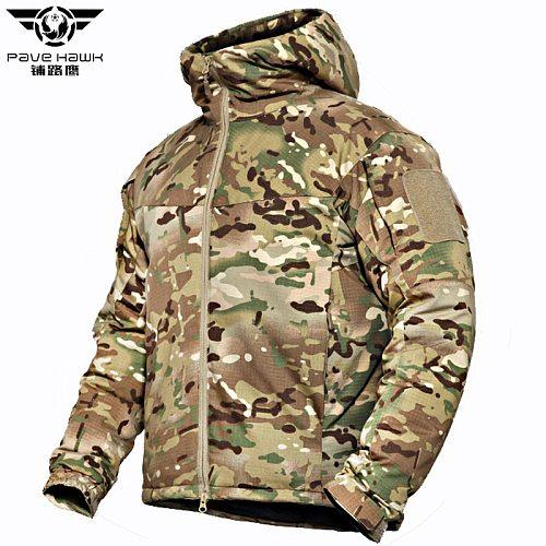 PAVEHAWK Multicam Camouflage Waterproof Hunting Jacket Men Outdoor Sport Down Parkas Hiking Trekking Climbing Women Windbreakers