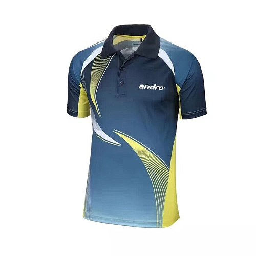 New Andro Top Quality Table Tennis Jerseys Training T-Shirts Ping Pong Shirts  Cloth Sportswear for men