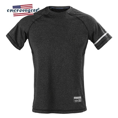 emersongear Mens Shirt Sports T-Shirt Quick Dry Breathable Shirt Outdoor Training Tops Hiking Climbing Stretched Tops Tee Cloth