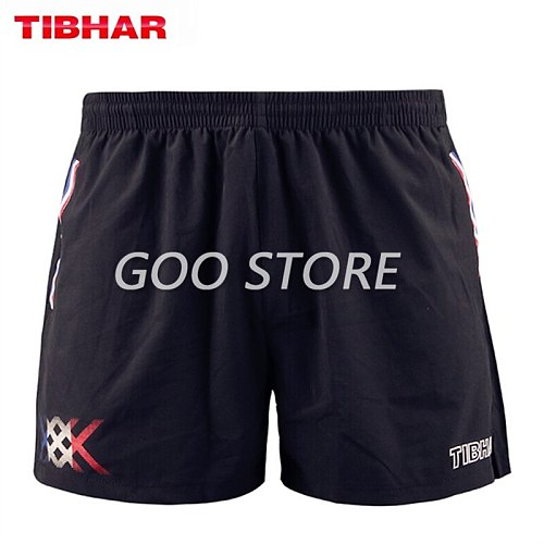 TIBHAR Table Tennis Shorts France National Team comfortable high elasticity ping pong clothes sportswear shorts
