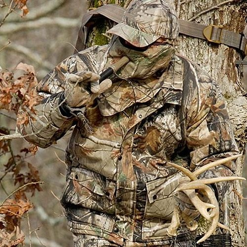 Outdoor Bird Watching Hunting Clothes Mute Waterproof Bionic Camo Stealth Suits Spring Thin Military Fans Tactical Jacket Pants
