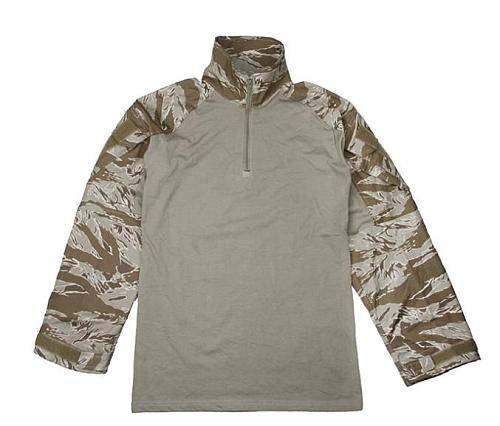 TMC G3 Combat Shirt Original Size Tactical Military Airsoft Outdoor Shirt Desert Tiger Stripe(SKU051364)