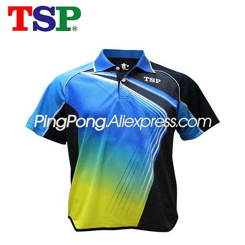TSP Table Tennis Shirt / T-shirts for Men / Women Badminton TSP Ping Pong Clothes Jersey for Table Tennis Games