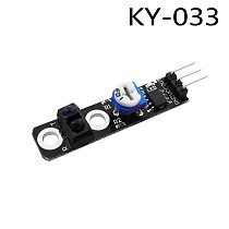 Diy KY-033 One Channel 3 pin Tracking Path Tracing Module Intelligent Vehicle Probe Infrared Detection Sensor