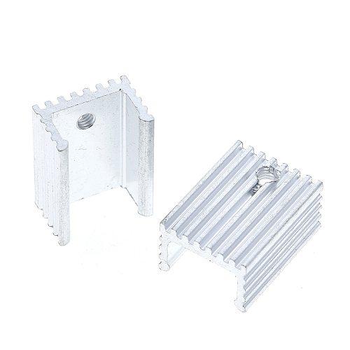 10pcs  Heat Sink Transistor Radiator TO220 Cooler Cooling 20*15*10MM