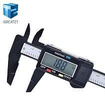 GREATZT New Arrival 150mm 6 inch LCD Digital Electronic Carbon Fiber Vernier Caliper Gauge Micrometer Measuring Tool
