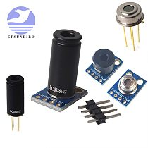 GY-906-DCI long-range infrared temperature sensor module / small angle MLX90614ESF-DCI MLX90614ESF BAA BCC MLX90614ESF DAA