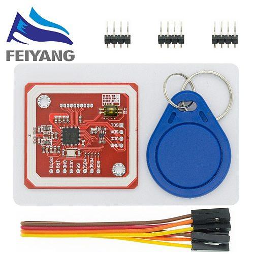 1Set PN532 NFC RFID Wireless Module V3 User Kits Reader Writer Mode IC S50 Card PCB Attenna I2C IIC SPI HSU