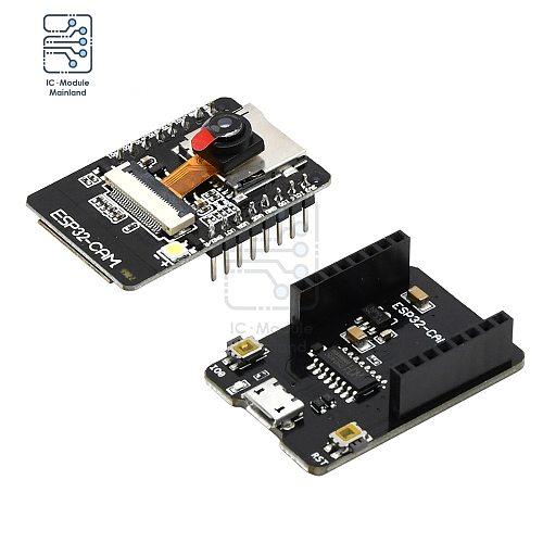 ESP32-CAM-MB WIFI Bluetooth Development Board with OV2640 Camera MICRO USB to Serial Port CH340G 4.75V-5.25V For Smart Home