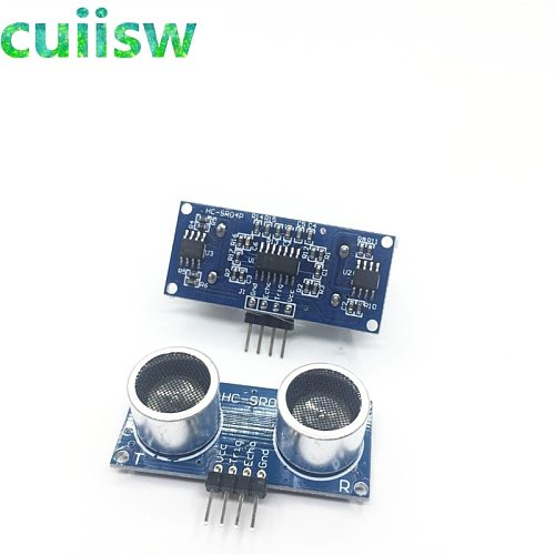10PCS HC-SR04P HC-SR04  Ultrasonic Ranging Module Ranging Sensor Module 3-5.5V Wide Voltage Performance Is Stronger