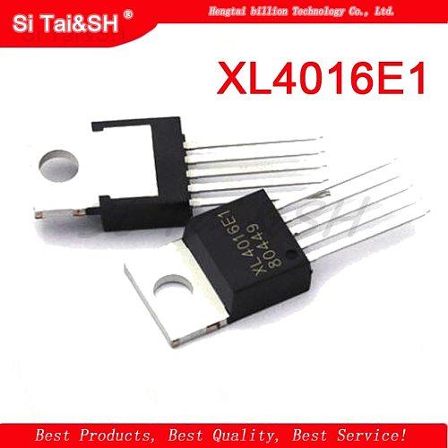 2PCS XL4016E1 XL4016 TO-220-5 4016E1 TO220-5 New and Original IC Chipset