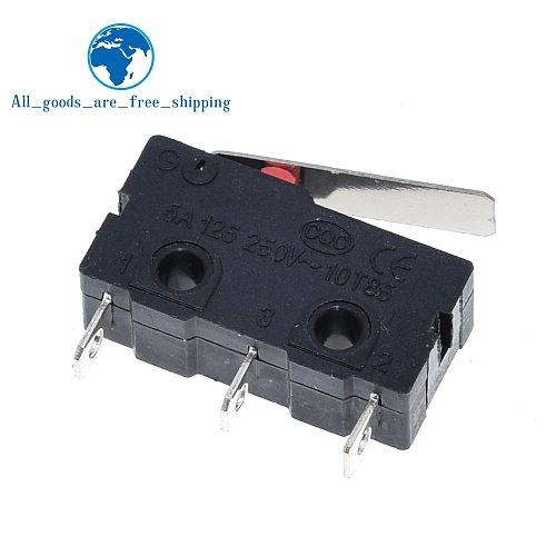 10PCS Tact Switch on off KW11-3Z 5A 250V Microswitch 3PIN Buckle New