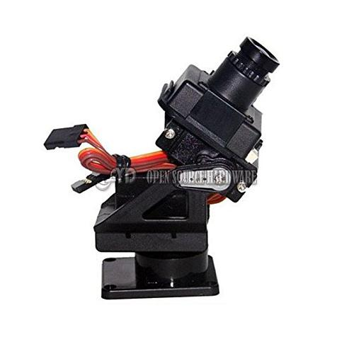 Servo bracket PT Pan/Tilt Camera Platform Anti-Vibration Camera Mount for Aircraft FPV dedicated nylon PTZ for 9G SG90