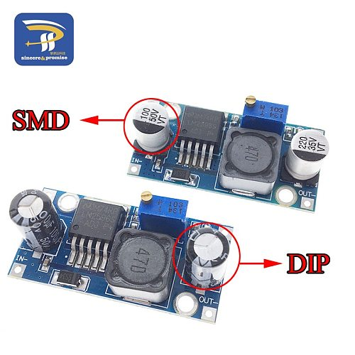LM2596S LM2596 DC-DC Step-down module 5V/12V/24V adjustable Voltage regulator 3A