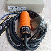 KI5002 New Capacitive Proximity Switch Sensor M30 PNP NO Sensing range 15mm 10-36VDC High Quality