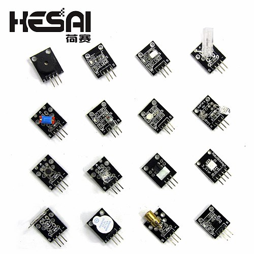Smart Electronics 37 in 1 Sensor Kit  Brand New 37in1 with Plastic Box for arduino Diy Starters KIT